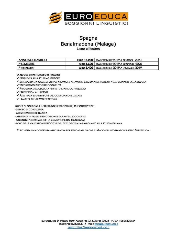 liceo-all-estero-spagna | Euroeduca Soggiorni Linguistici
