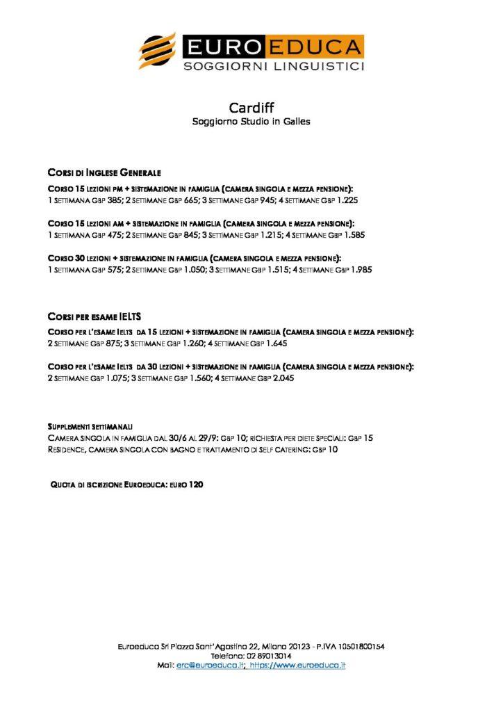 soggiorni-studio-cardiff | Euroeduca Soggiorni Linguistici