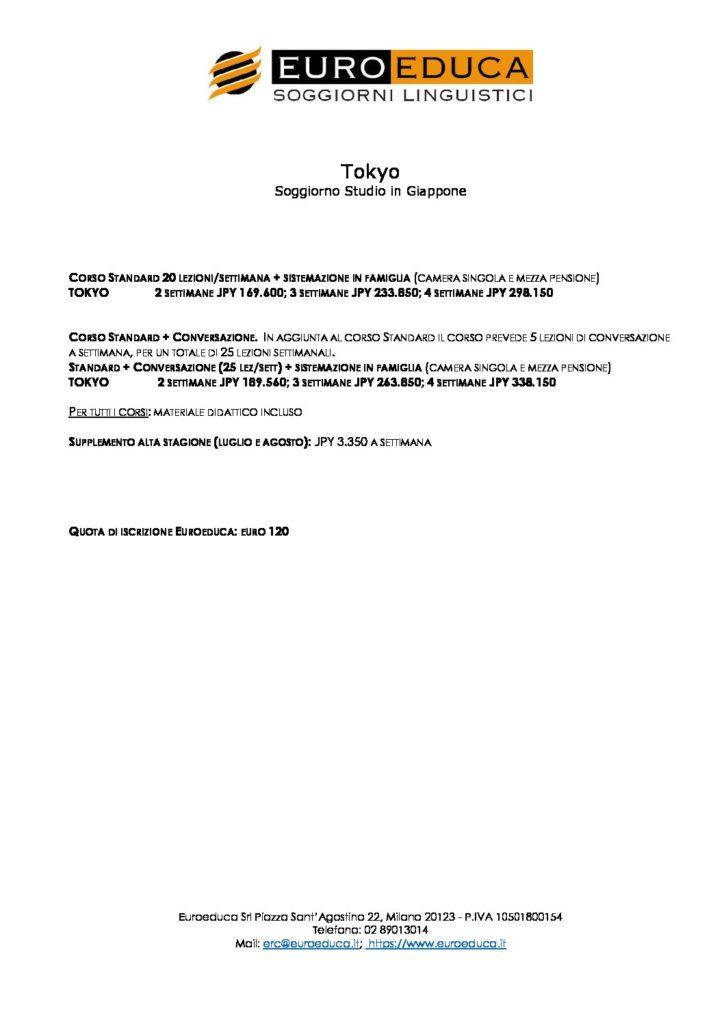 Soggiorni studio tokyo euroeduca soggiorni linguistici for Soggiorni studio in inghilterra